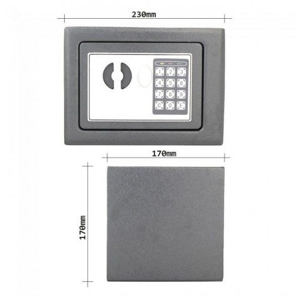 Seif mini STAR1 EL 170x230x170mm închidere digitală