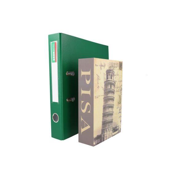 Casetă tip carte pentru bani  PISA numeric