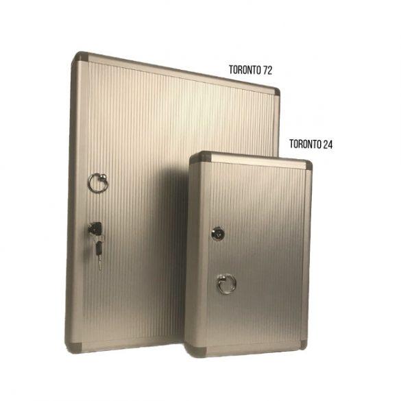 Caseta pentru chei TORONTO 24 aluminium