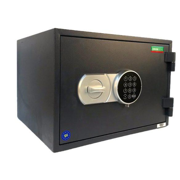 Seif certificat antifoc Kronberg Fire30TE cheie/electronic 296x430x365 mm EN15659/60P