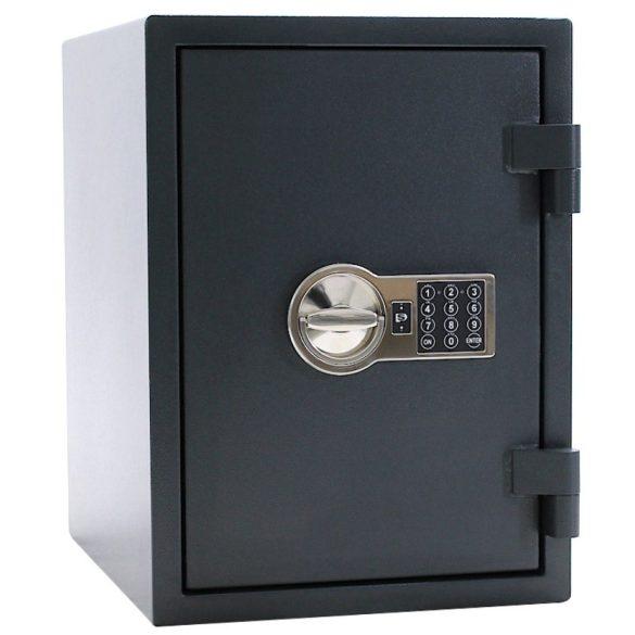Seif certificat antifoc antiefractie Kronberg FireProfi51 electronic 510x445x425 mm EN14450/EN15659/60P