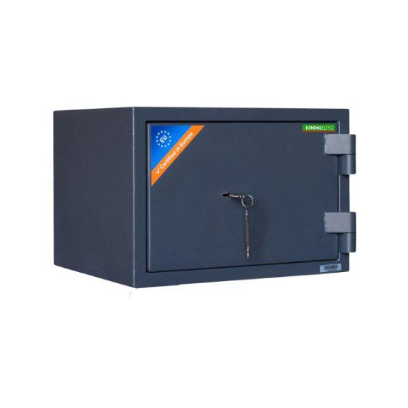 Seif certificat antiefractie antifoc Kronberg ProFire30 cheie 300x427x385 mm EN1143/EN1/30P