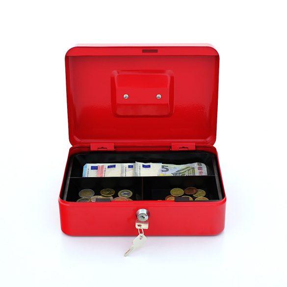 Casetă bani TRAUN3 rosu