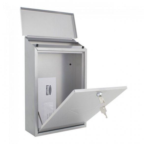 Cutie poștală Parma argintiu