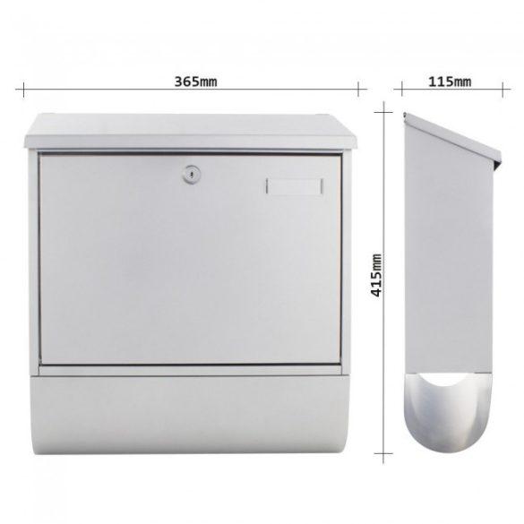 Cutie poștală Villa Spezial-Set Argintie