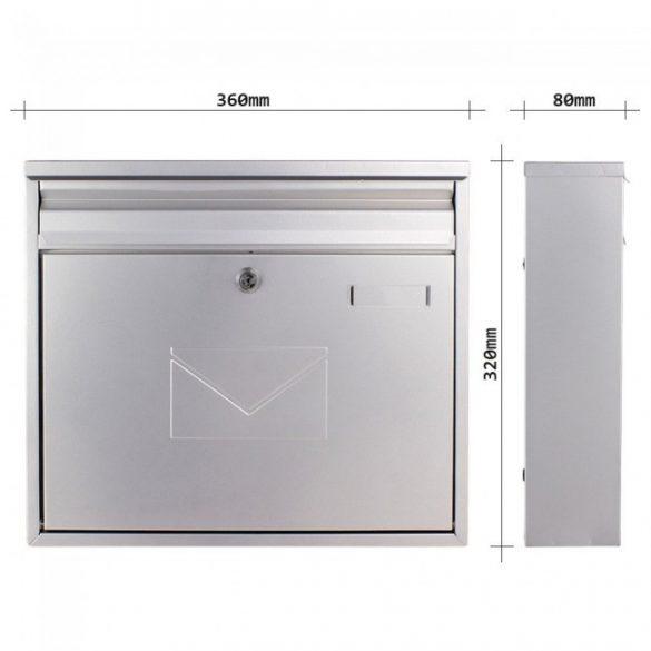 Cutie poștală Teramo Argintie