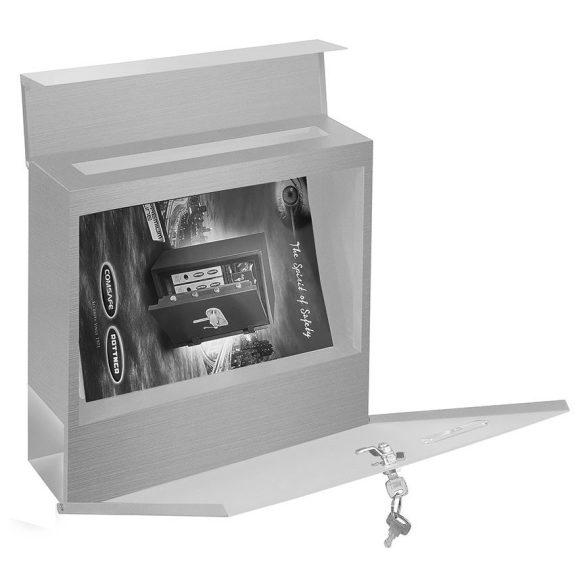 Cutie poștală Kensington INOX  cu suport ziare