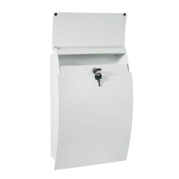Cutie poștală Harrow alb