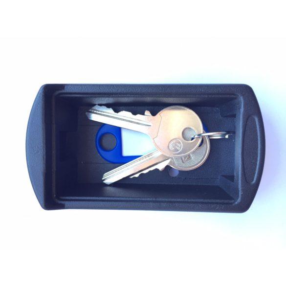 Depozitor SMARTBOX-1 negru pt 1 cheie - interior 70x40x12 mm