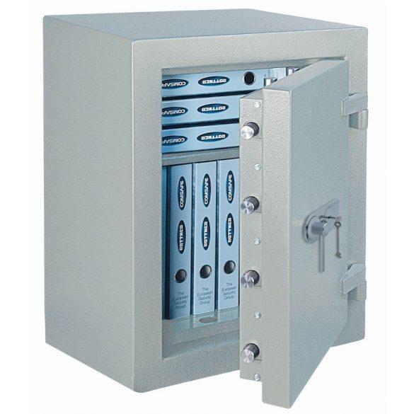 Seif antiefracție și antifoc DO65 EL IT EN3 FIRE PREMIUM electronic