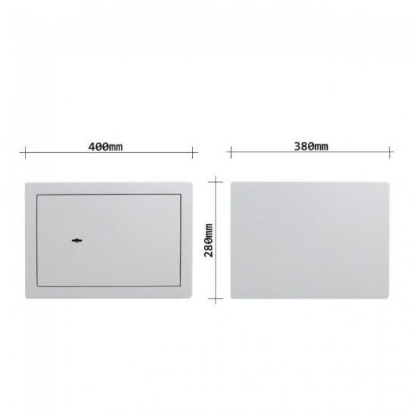 Seif Mobilă cu perete dublu B300 DB cheie