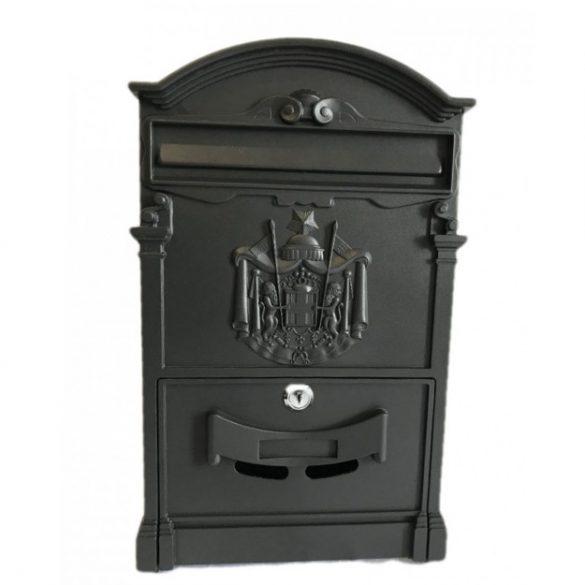 Cutie poștală  RUSTICA antracit negru