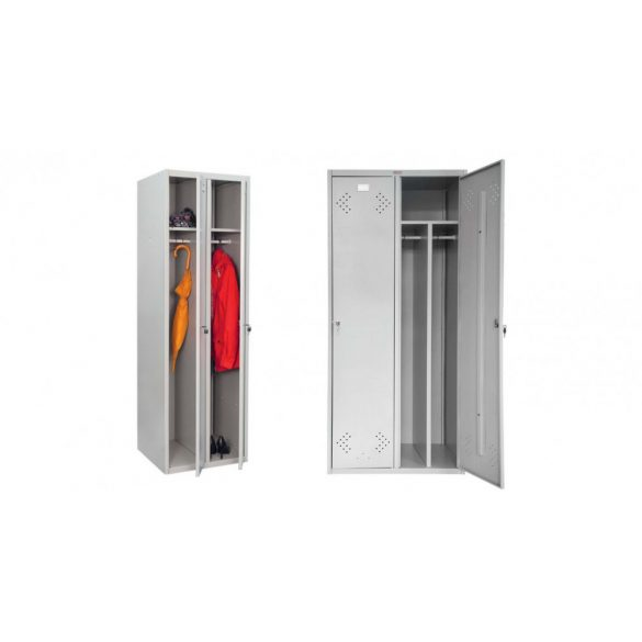Vestiar metalic Kronberg LINE IVT-21/2 usi cheie 1830x575x500 mm